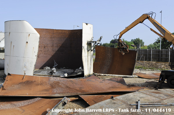 Tank Farm demolition 2011