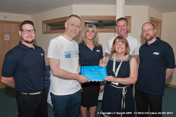 Presentation to Norfolk Hospice - Tapping House.